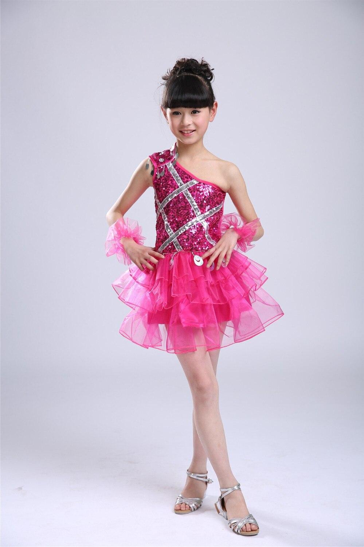 Chica Kids Vestido Del Ballet Leotardo de Lentejuelas Niños ...