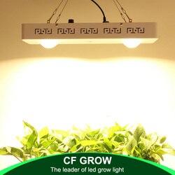 CREE CXB3590 200W COB oświetlenie led do uprawy pełne spektrum ściemniania 26000 lm = HPS 400W lampa do uprawy roślina doniczkowa oświetlenie panelu wzrostu