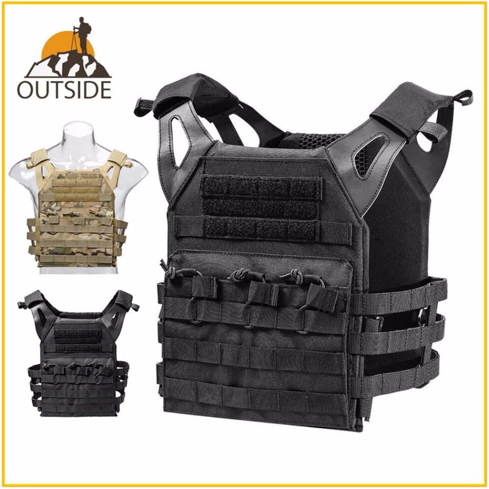 1000D Waterproof Tactical Laser-Cut JPC Vest Light-Weight MOLLE Lazer Special Plate Carrier Hunting Vest for Paintball Airsoft wosport military hunting vest enhanced tactical 500dnylon molle jpc shooting game body armor rig plate carrier airsoft paintball