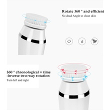 2019 New Stylish 3-in-1 Multifunctional Cleansing Products Electric Cleaning Brush Pore White Cleaner