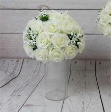 SPR -high-grade-10pcs/lot wedding road lead artificial wedding table flower center flower ball decoration