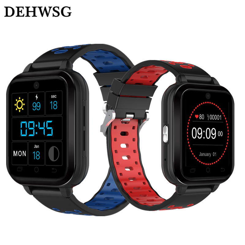 DEHWSG Q1 Pro 4G smart watch Android 6.0 MTK6737 Quad Core 1GB/8GB SmartWatch Phone Heart Rate Sim Card Support Change Strap 18m maxinrytec 4g smart watch dm18 android 6 0 mtk6737 quad core 1gb 16gb gps wifi smartwatch phone heart rate sim card pk dm368 h5