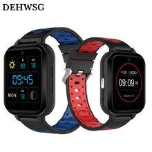 DEHWSG MTK6737 Q1 Pro 4G relógio inteligente Android 6.0 Quad Core 1 GB/8 GB Telefone SmartWatch Freqüência Cardíaca Cartão Sim Apoio Cinta Mudança 18 m