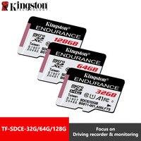 Kingston высокая прочность MicroSD карта класс 10 64 ГБ 32 ГБ 128 ГБ Memorias Micro SD SDXC флэш-карта памяти эксклюзивный для домашнего монитора