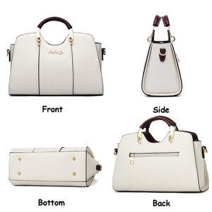 Image 3 - Luxe Handtassen Vrouwen Tassen Designer Schoudertas Crossbody Mode Vrouwelijke Tassen Dames Handtas Lederen Waterdichte Messenger Bag