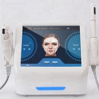 Newest tech 2 in 1 hifu vaginal tightening machine+skin tightening face lifting machine