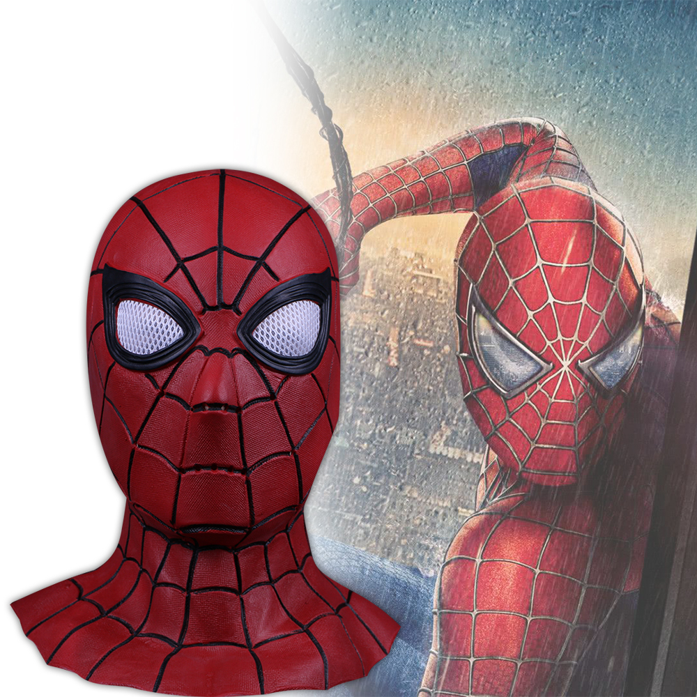 Cosplay Avengers Infinity War Spiderman Mask Black Spiderman Superhero Mask New