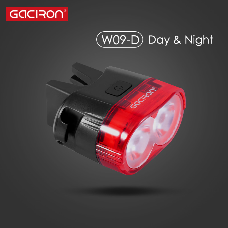 Gaciron Smart 60 Lumen super bright Rechargeable LED USB Mountain Bike TailLight Safety Warning Bicycle Rear Light Bicycle Lamp portable usb rechargeable bike bicycle tail rear safety warning light taillight lamp super bright als88