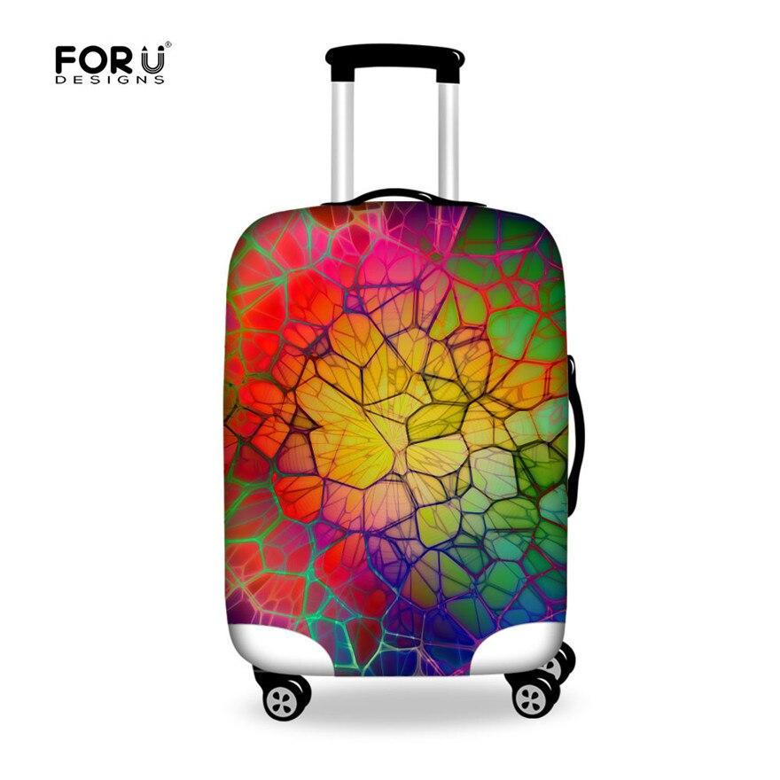 Forudesigns относятся к 18 ~ 28 Чехол чемодан защитная крышка Туристические товары упругие толстые Чемодан Защитная крышка Пылезащитный чехол