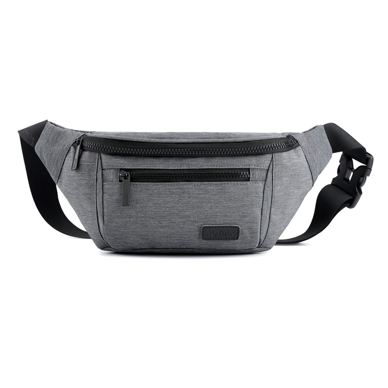 Waist Purse Chinese Blue And White Porcelain Style Unisex Outdoor Sports Pouch Fitness Runners Waist Bags