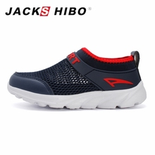 JACKSHIBO Spring Kids Sneakers Breathable Sport Running Shoes Big kid Summer Beach Zapatos de agua Boys Girls Light Sneakers para niño