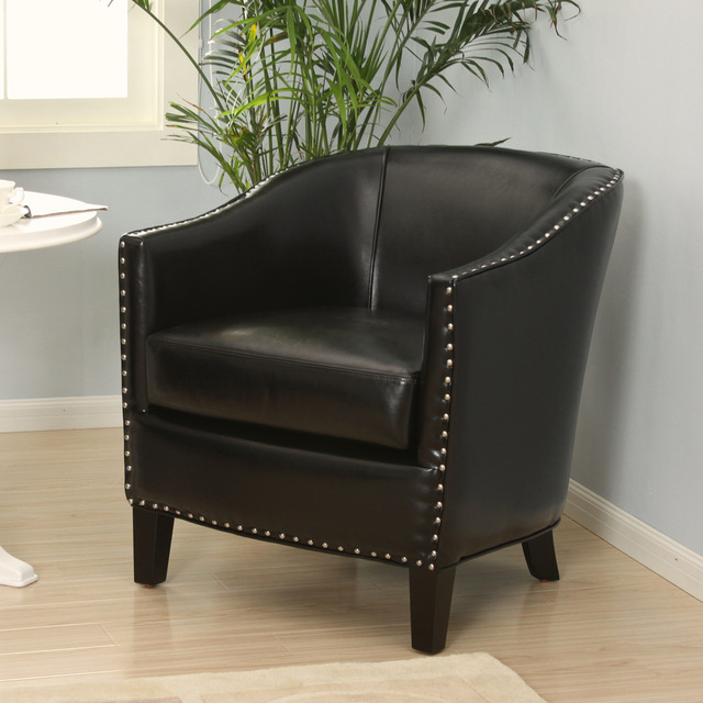 [ Gamma ] One Hundred American Leather / Sofa Chair / Hotel / Cafe / Living