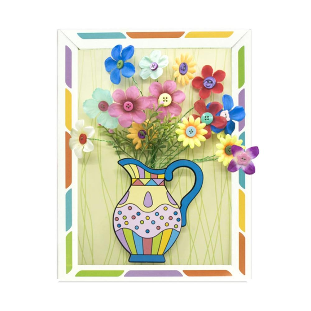 Handmade Bouquet Kindergarten Educational Toys DIY Flower Arrangement Kit Boys & Girls Educational Toys Gift