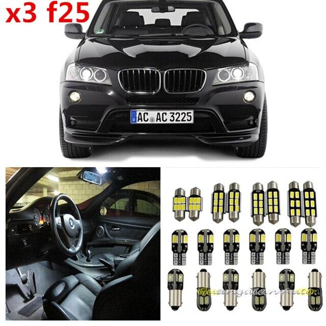 Tcart 20 x Error Free White Interior LED Light Package Kit for BMW ...