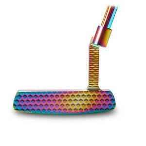 Image 5 - ゴルフパタークラブメンズカラフルなcnc 33 34 35インチグリップオプション色とヘッドカバー