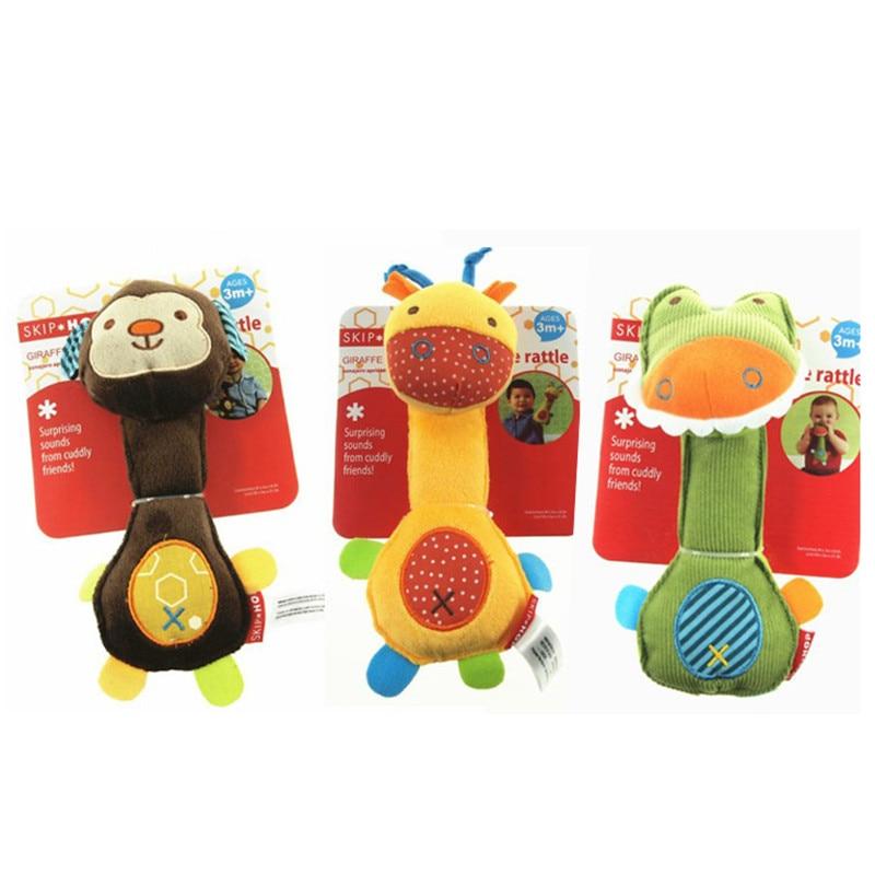 1 قطع الساخن بيع الرضع الحيوان ناحية - لعب للأطفال الرضع