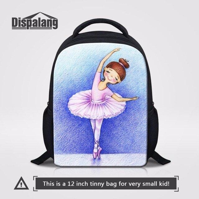 Dispalang Cute Kids Mini School Bags Dancing Ballet Girl Children Book Bags  Preschool Kindergarten Backpack Toddler Shoulder Bag b7c179b33ea9a