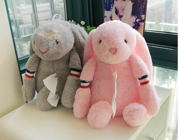 Plush toy 1pc creative plush rabbit exo tissue paper towel cover home decoration children stuffed gift