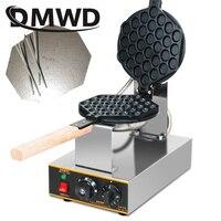 DMWD Electric Chinese eggettes waffle maker puff iron Hong Kong bubble eggs machine cake oven 110V 220V bubble waffle