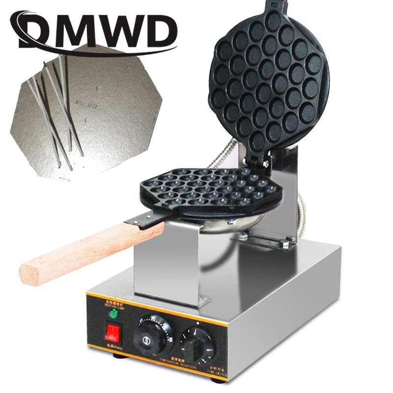DMWD Elettrico Cinese eggettes waffle maker soffio ferro Hong Kong bolla le uova macchina torta forno 110 v 220 v bolla cialda