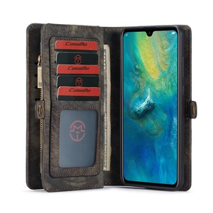 Image 5 - Luxury PU Leather Coque Cover for Huawei P20 P30 Pro Lite Case Fundas for Huawei Mate 20 Pro Case Card Wallet Magnet Back Cover
