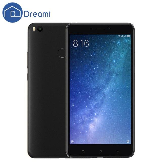 "Dreami Original Xiaomi Mi Max 2 4GB 64GB Max2 Mobile Phone 5300mAh Battery Octa Core 6.44"" 1920x1080 Snapdragon 625 12MP 2.0GHz"