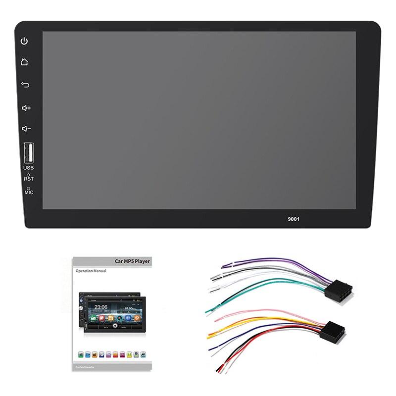 2 Din autoradio 9 pouces pleine presse miroir Link voiture stéréo lecteur voiture multimédia lecteur Mp5 Bluetooth Usb Auto-Radio