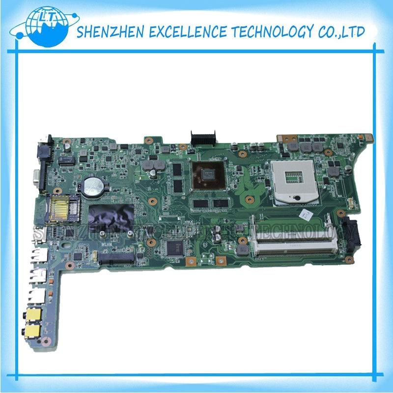 Original K73SV K73SM Notebook Motherboard For Asus K73SD Rev 2.3 GT540M 100% fully tested Free shipping  notebook motherboard for samsung np550 np550p5c n13p gt a2 gt650m ba92 09094a ba41 01898a tested ok free shipping