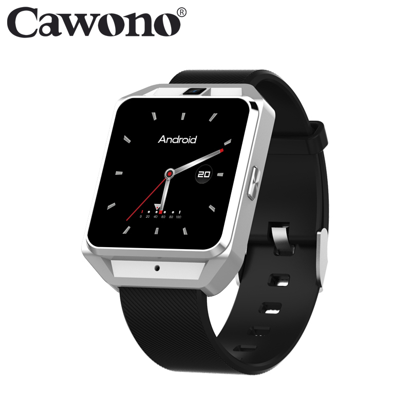 Cawono CA02 Smartwatch 4G GPS WiFi 1G RAM 8G ROM Smart Watch Heart Rate Monitor reloj inteligente for Men/Women Android MTK6737 4g gps android 6 0 smart watch m5 mtk6737 heart rate monitor support sim card camera business smartwatch for men women 2018 gift