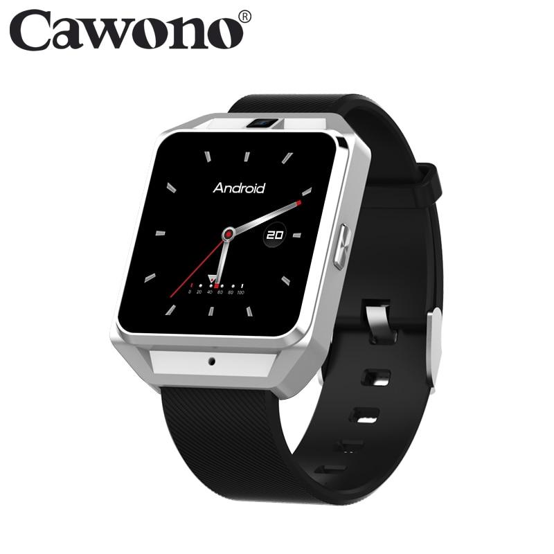 Cawono CA02 Smartwatch 4G GPS WiFi 1G RAM 8G ROM Smart Watch Heart Rate Monitor reloj inteligente for Men/Women Android MTK6737
