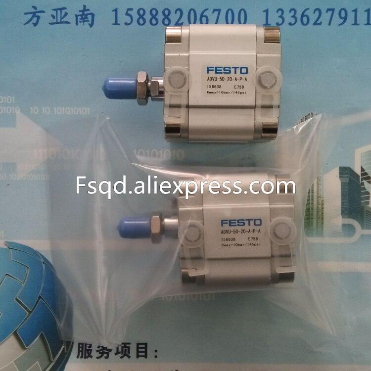 ADVU-50-25-A-P-A pneumatic air tools pneumatic tool pneumatic cylinder pneumatic cylinders air cylinder FESTO festo imported cylinder advu 25 160 a p a s6