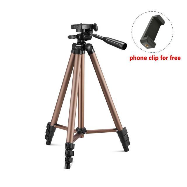 Camera Tripod for Smartphone Digital camera stativ Protable Photographic Tripode Mini Tripod for Travel Lightweight Camera Stand