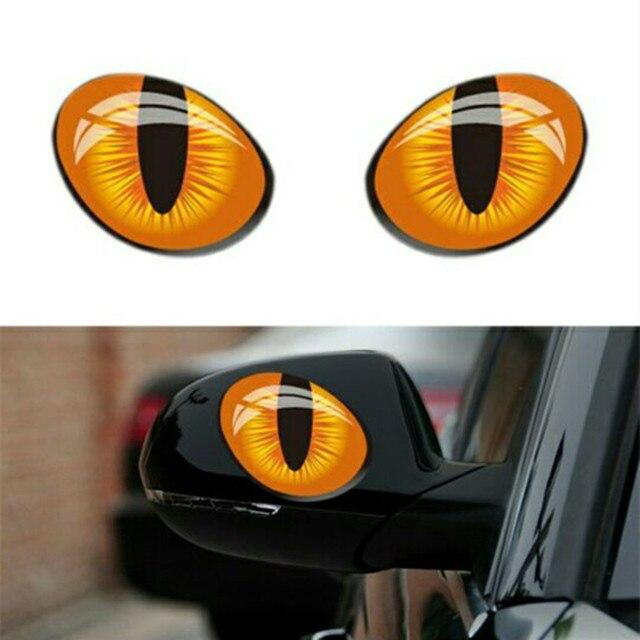 Auto Styling 1 Para 3d Katze Augen Ruckspiegel Aufkleber Auto