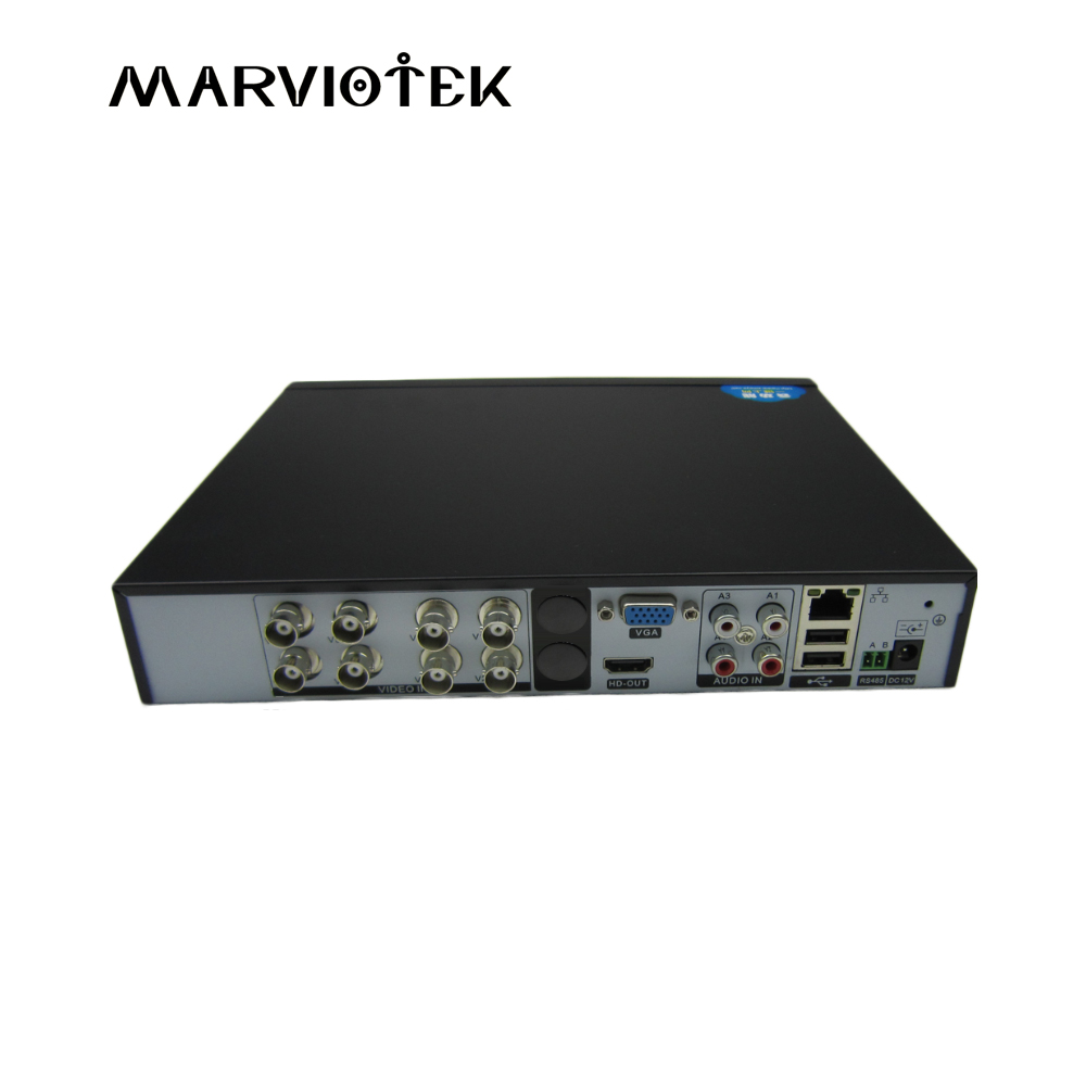 Mini DVR Digital Video Recorder CCTV DVR 8CH NVR Hybrid P2P Cloud Support CVBS TVI CVI AHD 1080p IP Camera Surveillance System ninivision 8ch ahd 1080p dvr hybrid dvr 1080p nvr video recorder ahd dvr for ahd analog camera ip camera tvi camera cvi camera