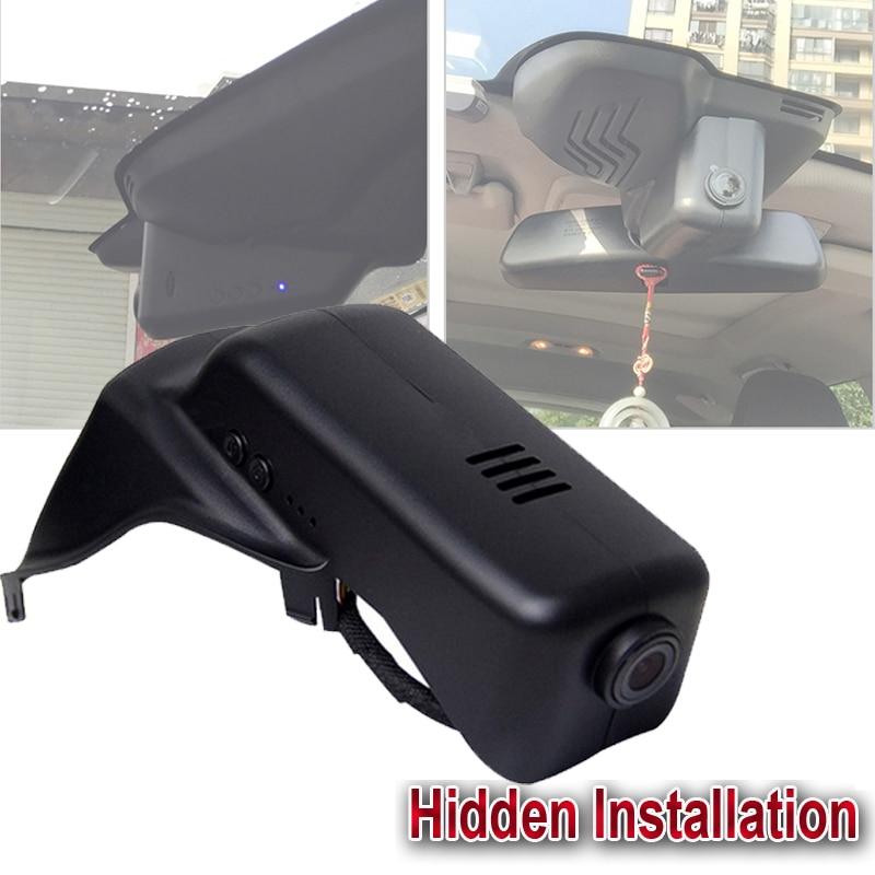 WIFI car dash camera 1080P HD G sensor hidden installation for 2015 Volvo XC60