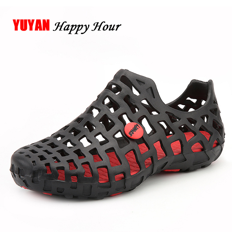 цена New 2018 Sandals Hollow Summer Shoes Women Jelly Shoes Flat Heel High Quality Women's Sandals Plus Size 43 ZH2579