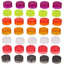 10PCS / Pack Kesan Gitar Elektrik Pedal Kaki Kaki Cap Amplifiers Candy Warna Kaki Switch Toppers Knob Accessories
