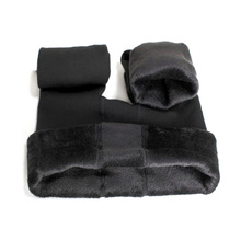 Free shipping Lady koala Velvet Thick Leggings Slim Fit Pants warm protection Autumn Winter stirrup pants