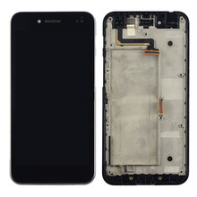 For Asus PadFone S PF500KL PF-500KL PF500 Full Lcd Display Touch Screen Digitizer Assembly with Frame Black