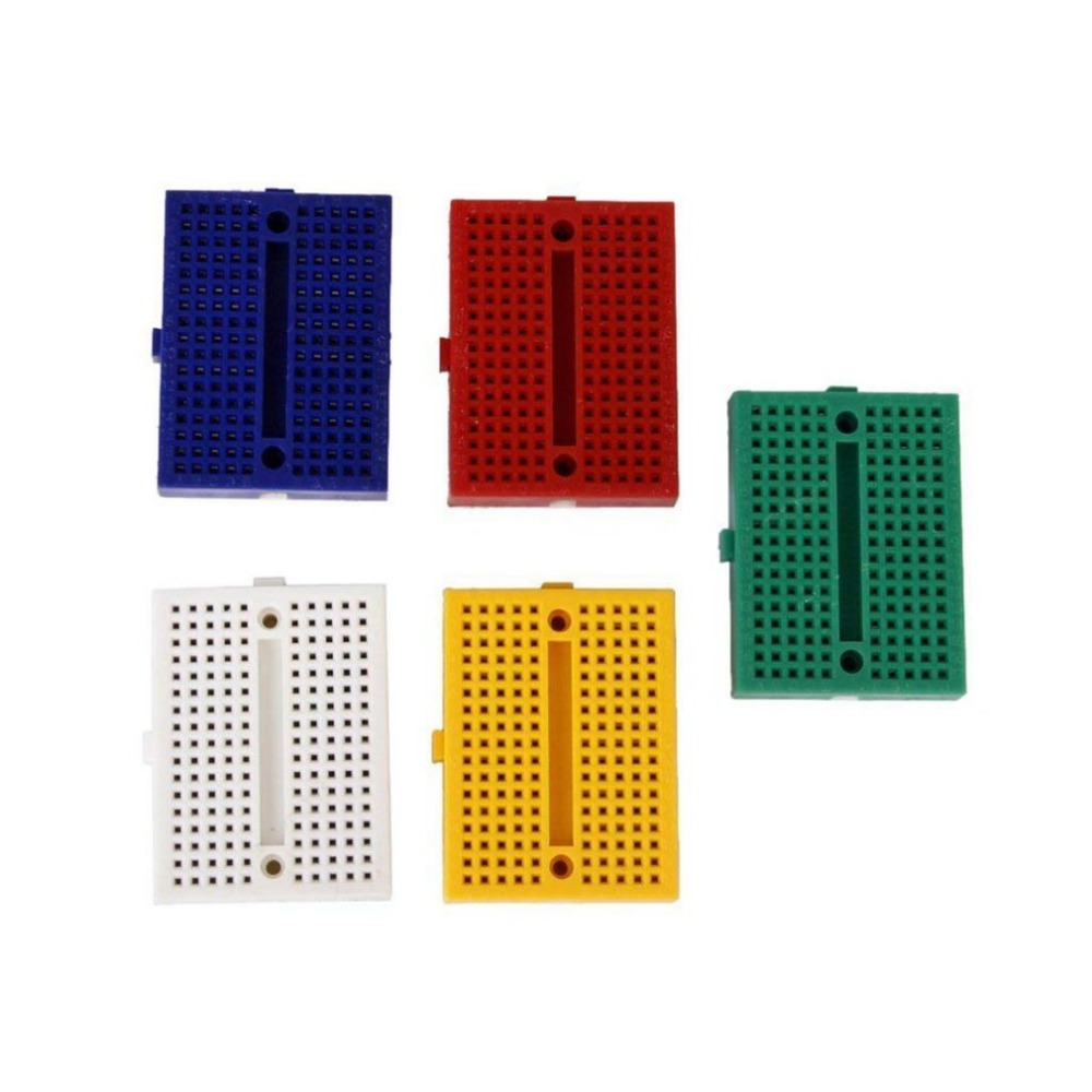Detail Feedback Questions About Syb 170 Mini Color Solderless Breadboard With 400 Tie Points And Matching Pcb 5 X