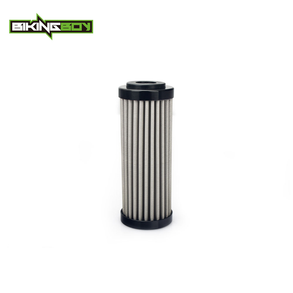 BIKINGBOY For KTM SX-F XC-F 250 350 450 FREERIDE 350 12-17 EXC-F 250 350 13 14 15 16 17 18 Reusable Oil Filter Stainless Steel