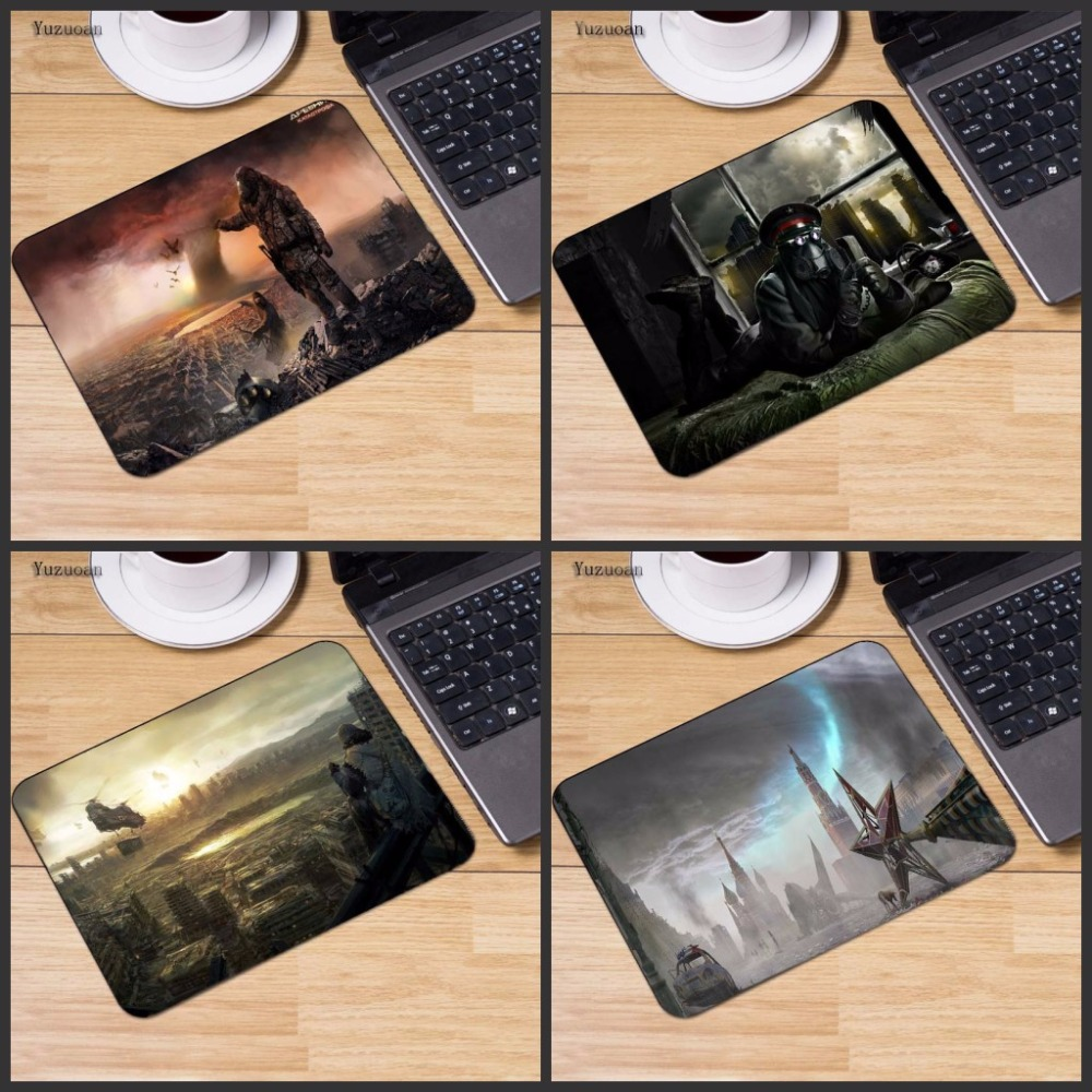 Yuzuoan Customize mousepad laptop mouse pad notbook computer gaming mouse pad gamer play mats For CSGO DOTA LOL Gamer 18*22cm