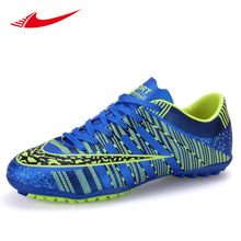 Beita Outdoor Soccer Shoes for Men Youth PU Cheap Lace-up Athletic Football Shoes Comfortable Lawn Trainers Size Eur33-44