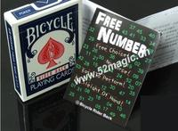 Free shipping! Free Number - Card MagicProps,Magic Tricks,close up,Accessories,Comedy,magic toys