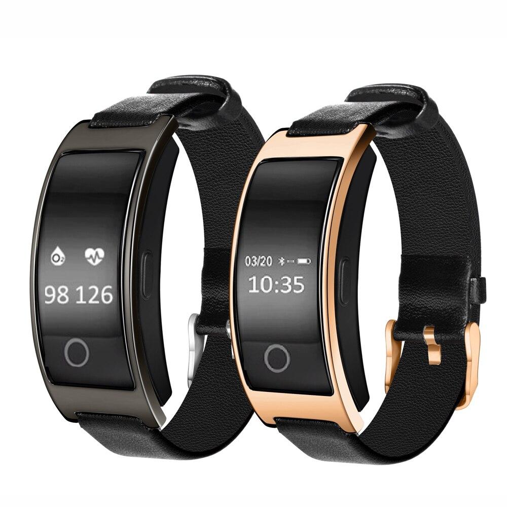 Bluetooth Smart Uhr CK11S Armband Band blutdruck Herz Rate Monitor Schrittzähler Fitness Smartwatch Für IOS Android Telefon