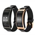 Reloj inteligente Bluetooth CK11S banda pulsera presión arterial Monitor de ritmo cardíaco podómetro Fitness reloj inteligente para IOS Android Teléfono
