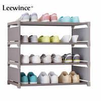Leewince Einfache Schuh Schränke Ironwork Multi-schicht Montage von Schuh Rack mit Moderne Einfache Staubdicht Schuh Schrank 50cm hight