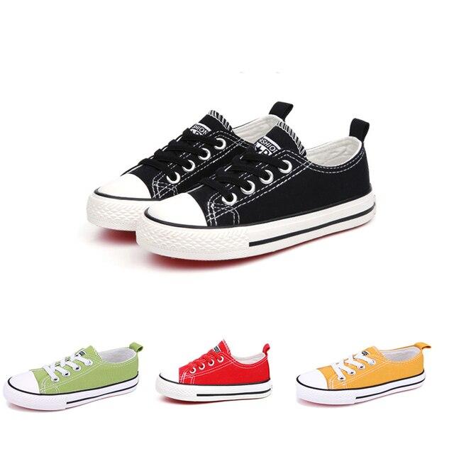f62f4636d Crianças Sapatos Tênis de Lona Calçados Infantis Meninas Meninos Todos  Marca Super Star Sapatas Dos Miúdos