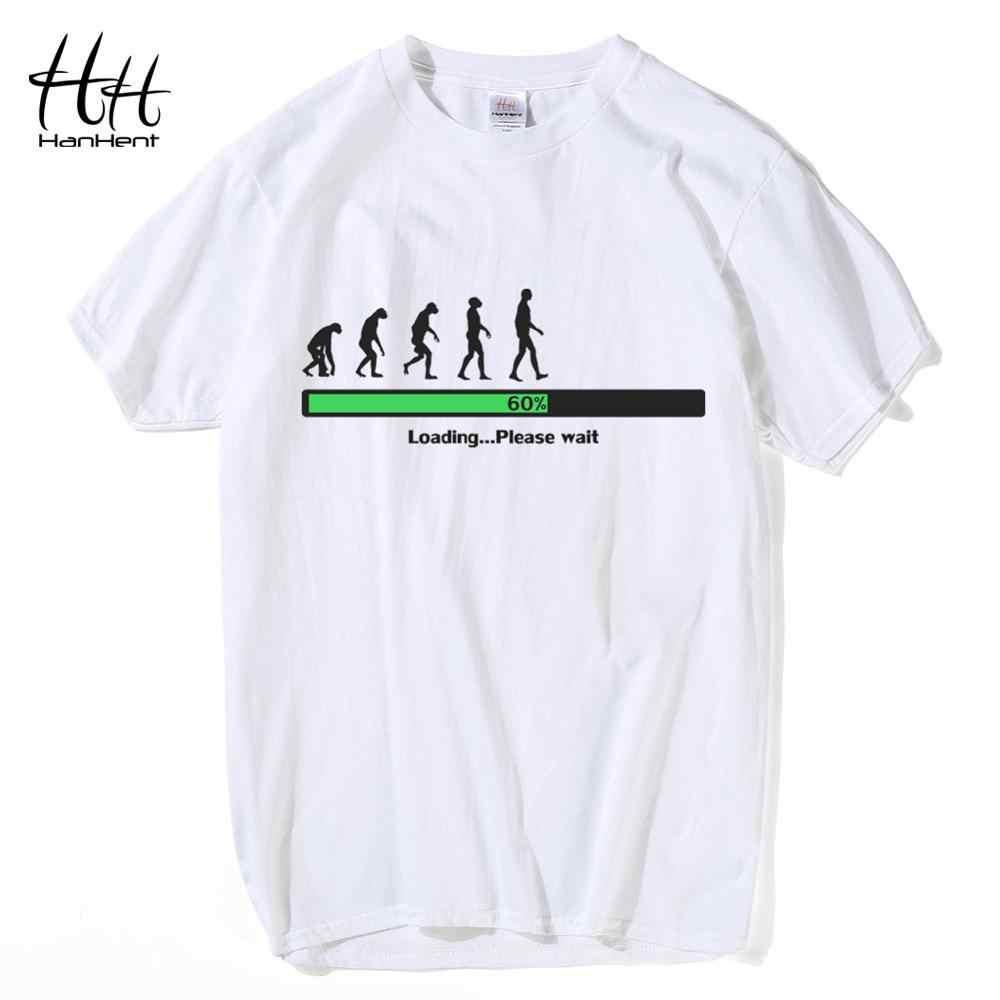 HanHent komik programlama t-shirt erkek pamuk kısa kollu Tee gömlek Geek 2018 yaratıcı Nerd T shirt özelleştirilmiş gömlek TH5424