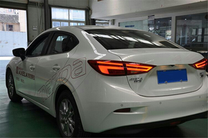 Image 5 - Auto Knipperende 2 Stuks Voor Mazda3 Axela 2014 2015 2016 2017 Achterlichten Mazda 3 M3 Led achterlicht Led Achter lamp Certa Achterlicht Lamp